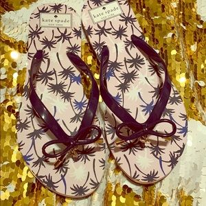 Kate spade palm tree sandal